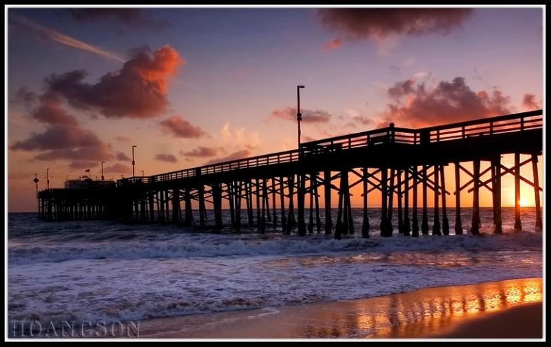 Newport Pier, Balboa Island - Newport Beach