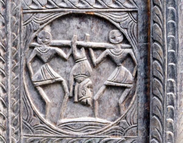 Motif on a door