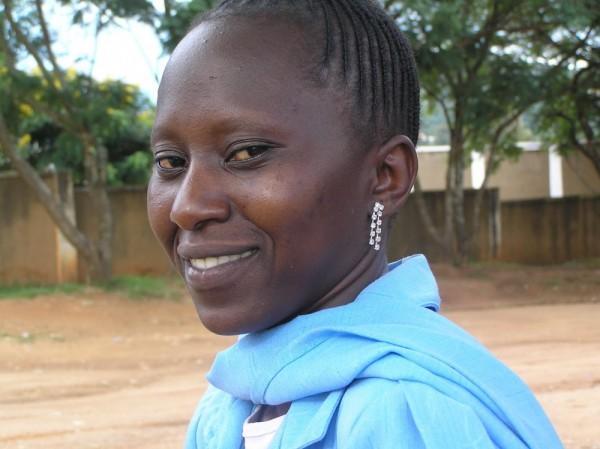 Zawadi, a young deaf Tanzanian