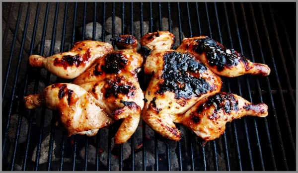 petit poussin chickem barbeque
