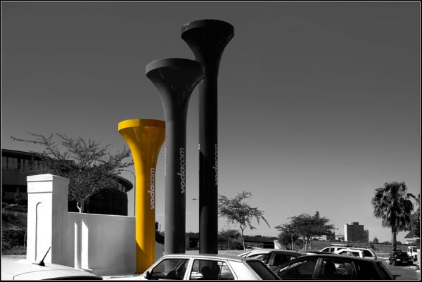 Yellow theme ii - Teed off