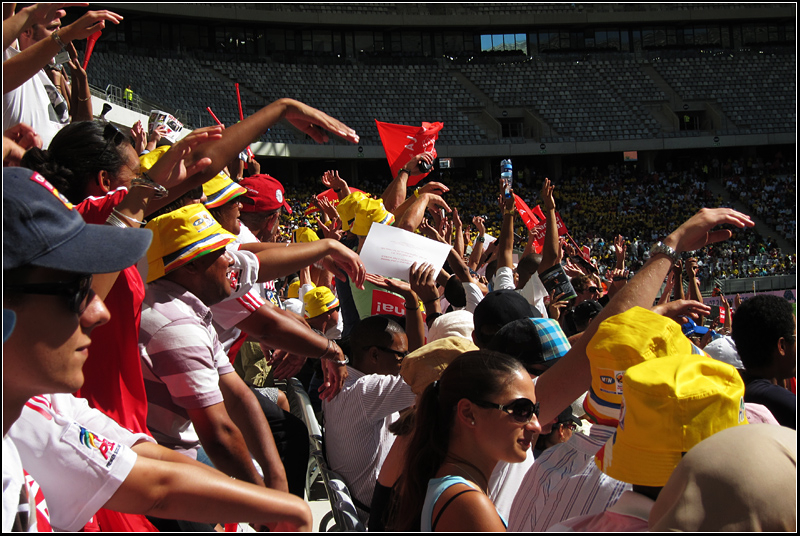 CT Soccer Stadium iv - Mexican Wave