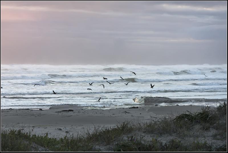 van-riebeeckstrand beach storm