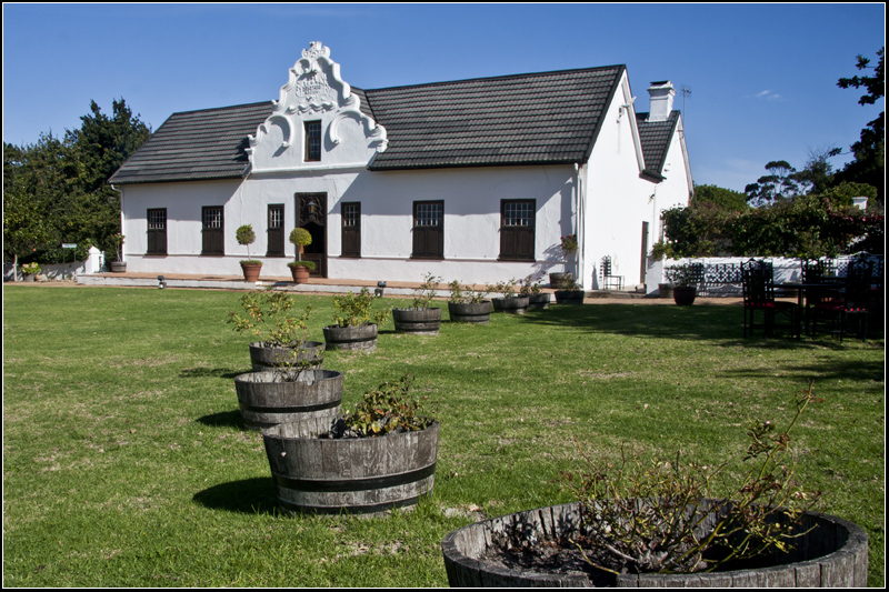 Hazendal Wine Estate - Manor House