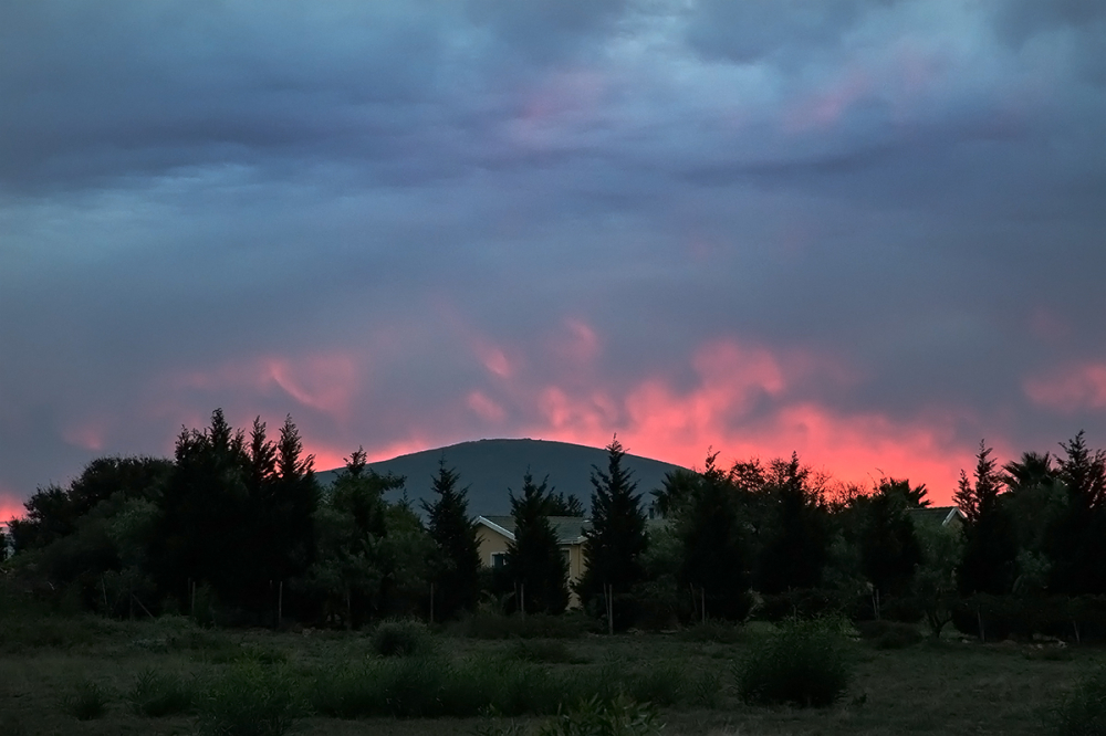 Durbanville sunset