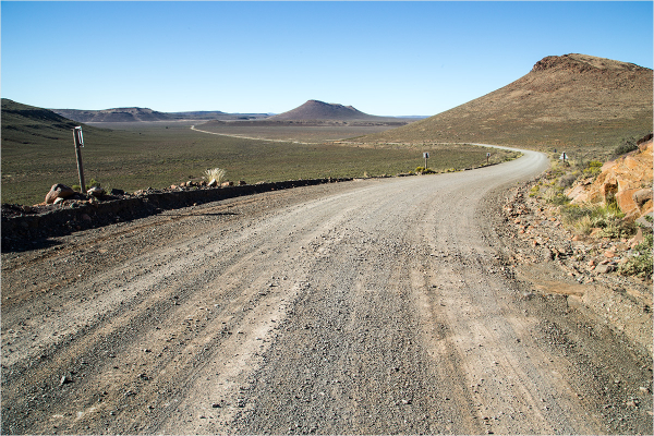 The road to Beaufort West