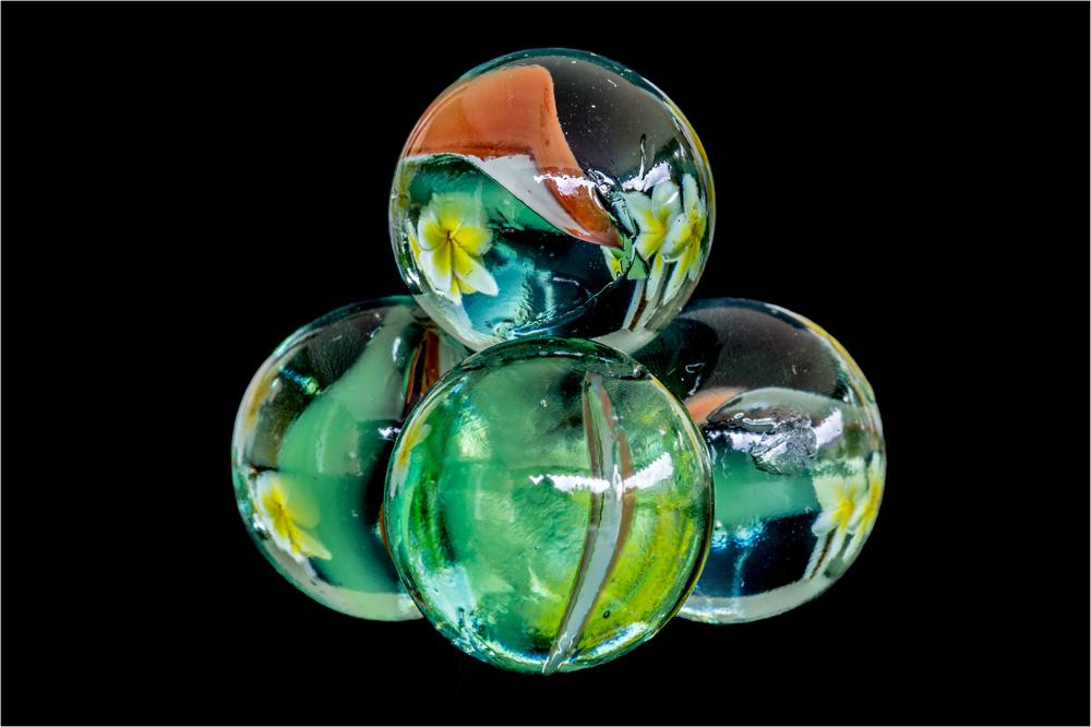 Marbles and Franjipani