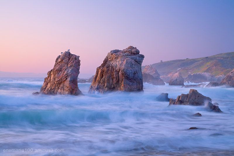 Seastacks, Garrapata State Beach, California