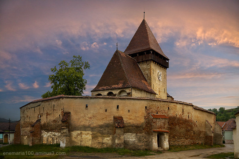Fortified Church of Axente Sever, Sibiu, Romania