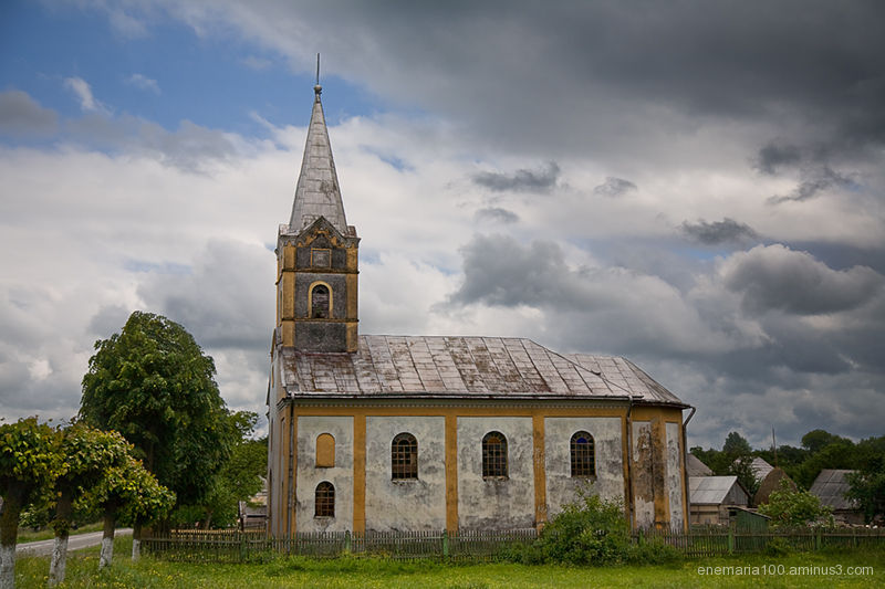 Church near Arbore Village, Suceava, Romania