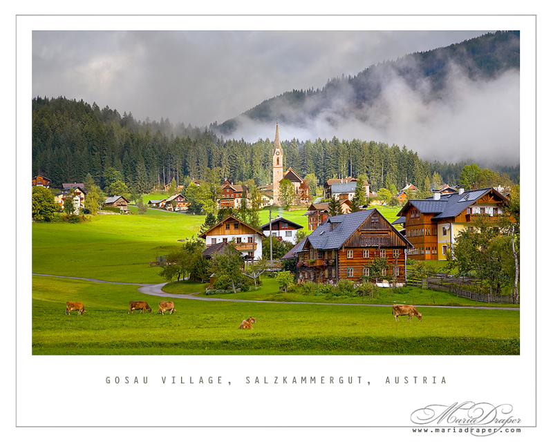 Gosau Village, Beautiful Dreamy Wonderful Austria