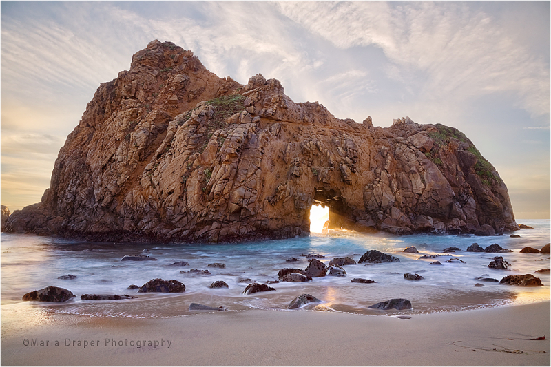 Pfeiffer Arch, Big Sur, California