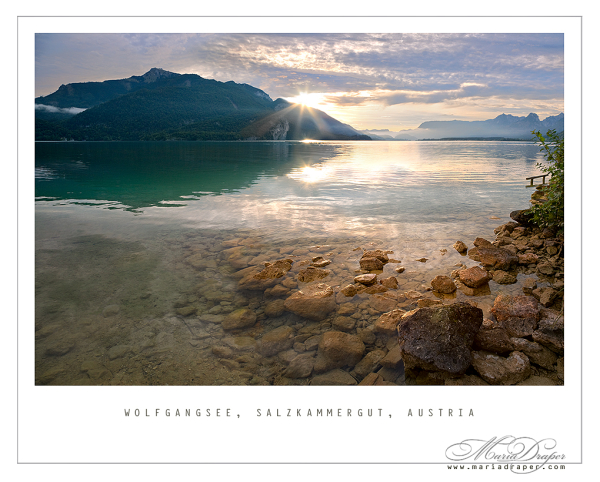 Wolfgangsee, Gilgen, Austria - Sunrise