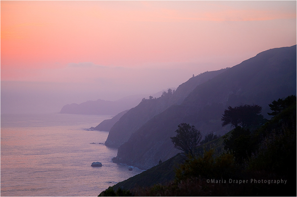 Fog Invasion, Big Sur, California