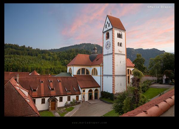 St Mang Basilica, Fussen, Bavaria, Germany