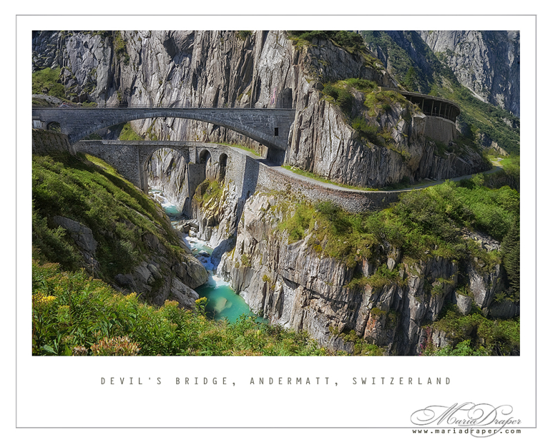 Devil's Bridge, Andermatt, Switzerland