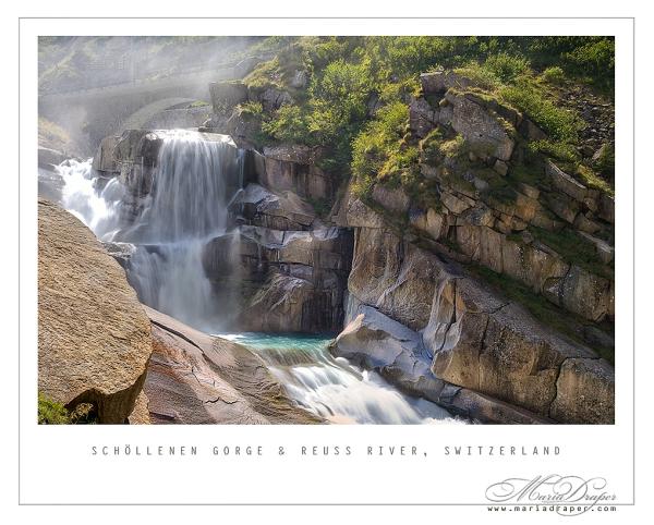 Schöllenen Gorge & Reuss River, Switzerland