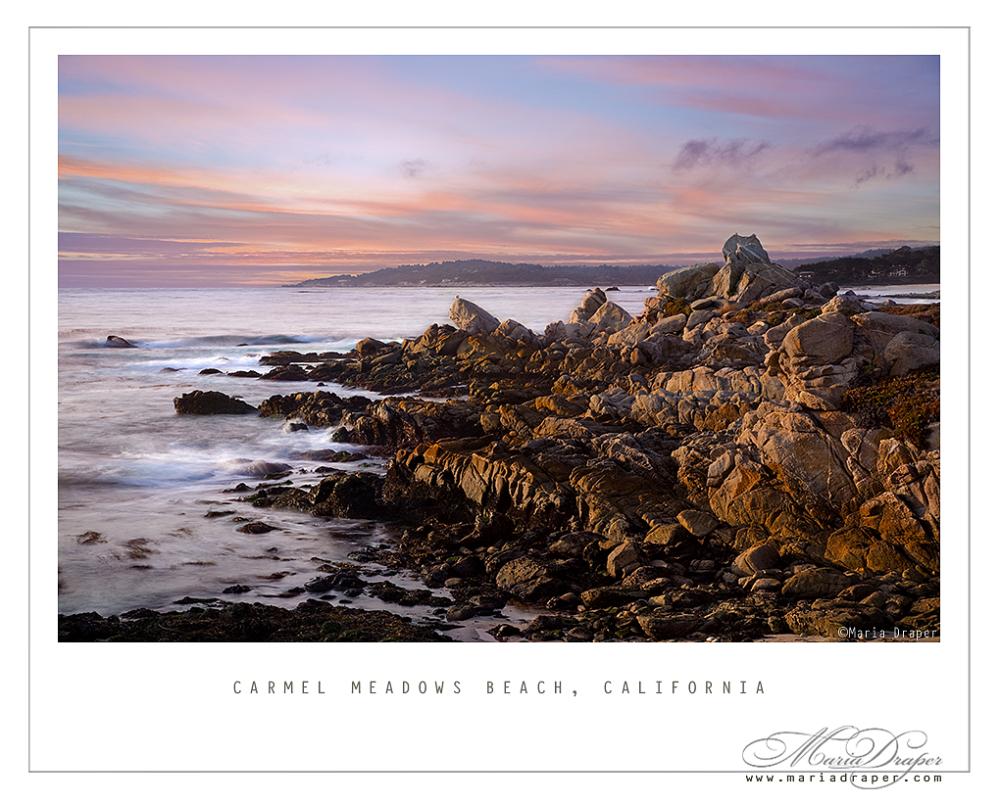 Carmel Meadows Beach, California