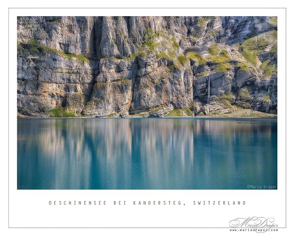 Oeschinensee bei Kandersteg, Switzerland