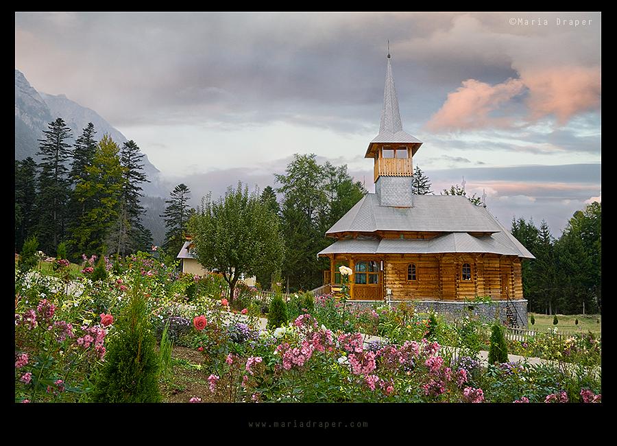 Caraiman Monastery, Busteni, Prahova, Romania
