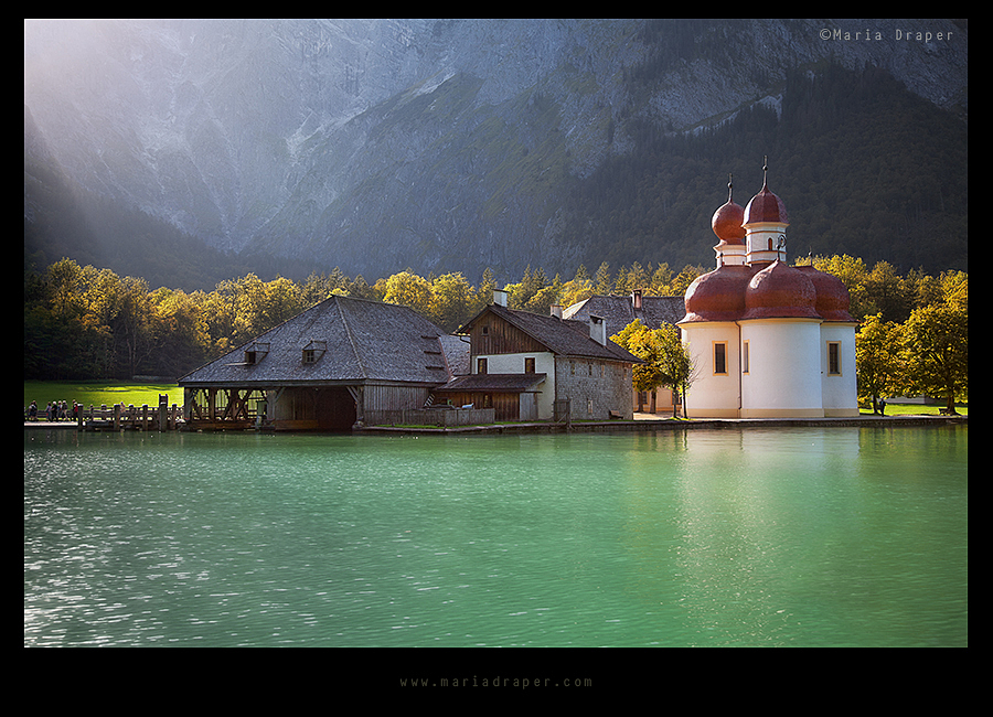 St. Bartholomew Church, Konigssee, Germany