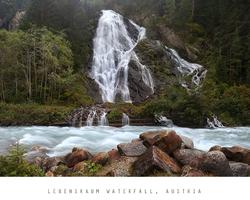 Schleierfall Waterfall, Austria