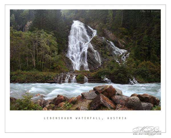 Schleierfall, Kals am Grossglockner, Tyrol Austria
