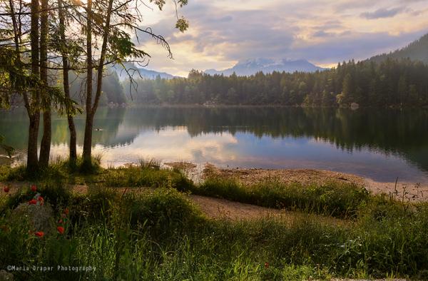 Lake Hintersee, Bavaria, Germany