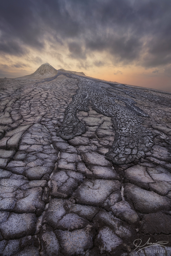 Mud Volcanoes, Buzau, Romania