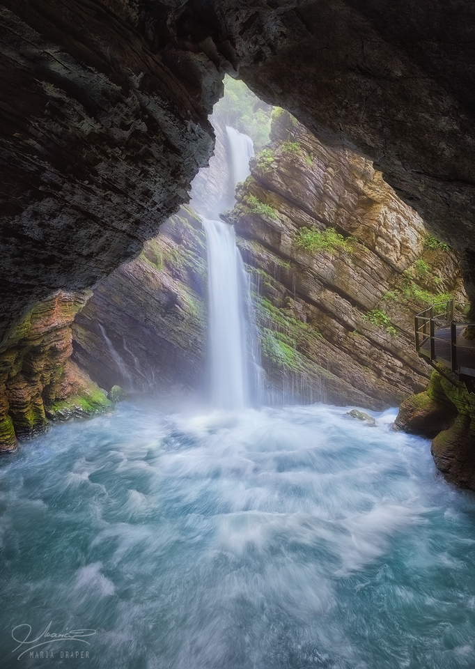 Thur Waterfall, Switzerland