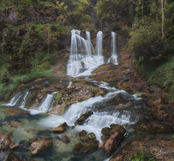 Weissbach Waterfall, Germany