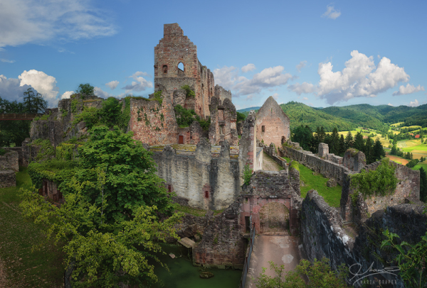 Ruine in the Black Forest region of Germany