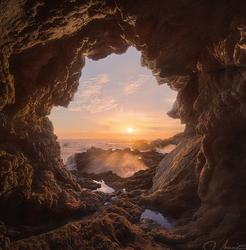 Hidden Garrapata Sea Cave