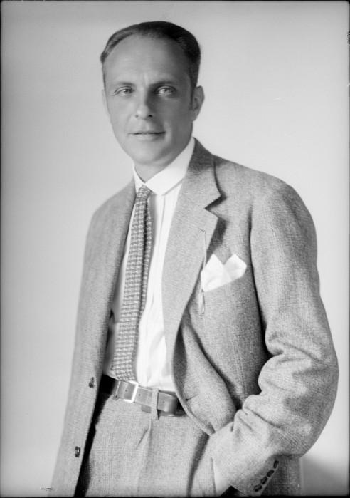 Baron Ernst von Nadherny, age 43
