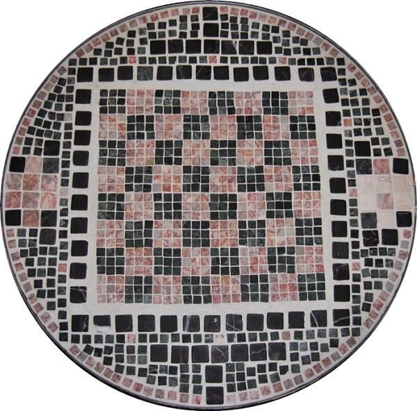 Mosaic Chess Board