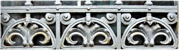 iron ornament
