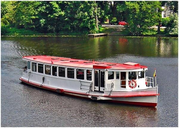 Alster boat trip