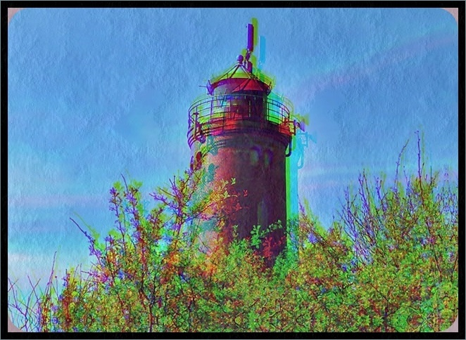 lighthouse abstract