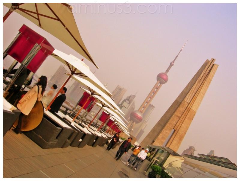 bund, walkside, shanghai