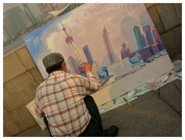 street, art, shanghai