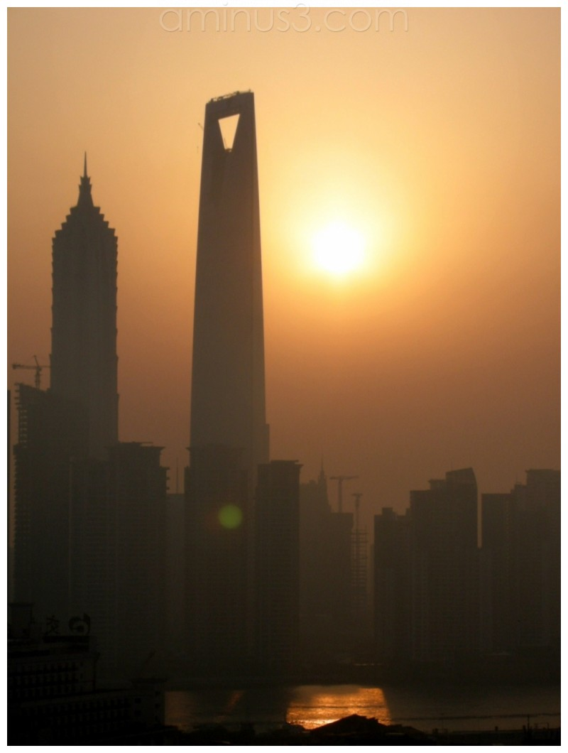 View of pudong