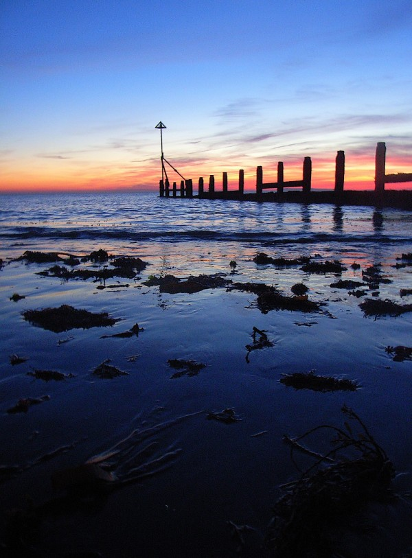 Sunset at Selsey West Sussex