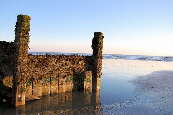 East Wittering, centre of the Earth