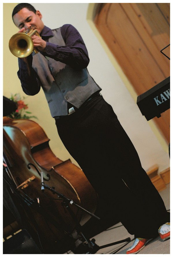 Empirical trumpeter, Jay Phelps in the best gig