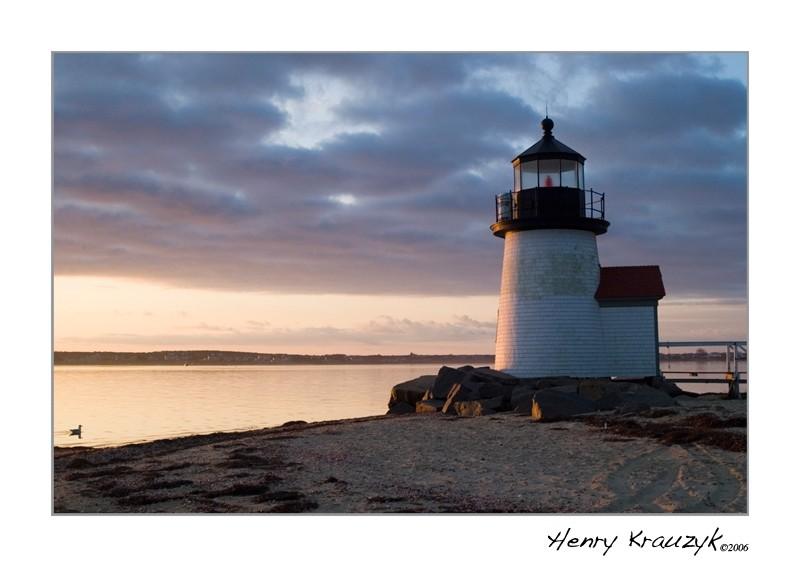 Brant Point Light, Nantucket, MA by Henry Krauzyk