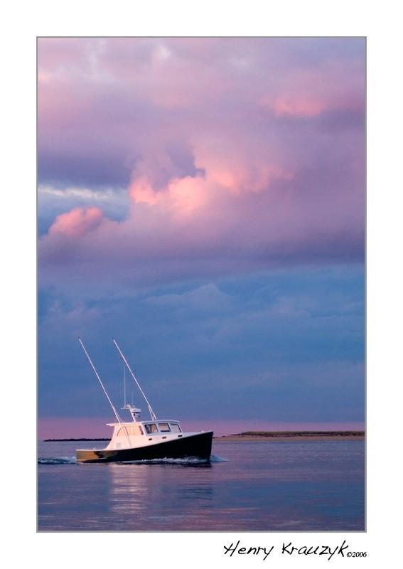 Returning Sportsfisher, Nantucket by Henry Krauzyk