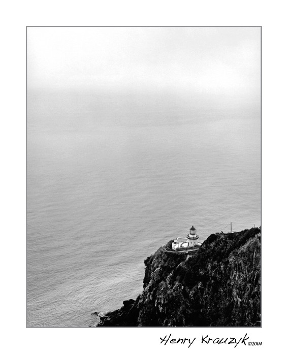 Lighthouse, Sao Miguel by Henry Krauzyk ©2004