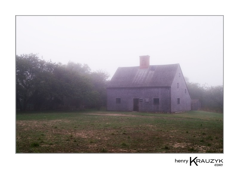 The Oldest home in Nantucket by Henry Krauzyk@2005