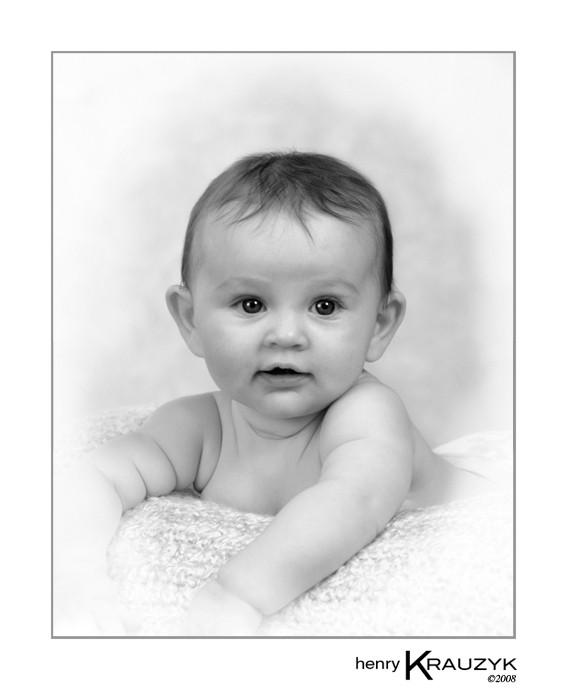 Baby Portrait by Henry Krauzyk ©2008