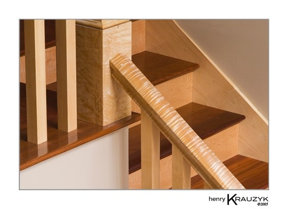 Maple Stairs by Henry Krauzyk ©2007